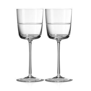 Vera Wang Bande Wine Glass, Set of 2
