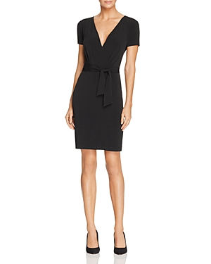 T Tahari Trish Faux Wrap Dress