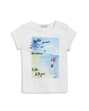 3 Pommes Infant Boys Beach Graphic Tee  Sizes 324 Months