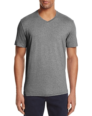The Men's Store at Bloomingdale's Pima Cotton V-Neck Tee - 100% Exclusive