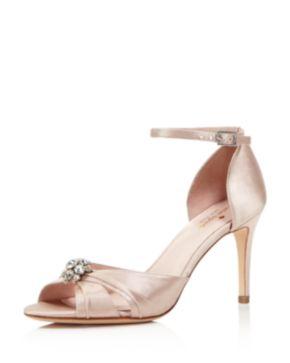 Kate Spade New York Embellished Ankle Strap Sandals