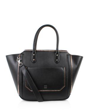 Ivanka Trump Tribeca Solutions Leather Satchel