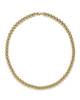"""Bloomingdale's - 14K Yellow Gold Beaded Necklace, 18"""" - 100% Exclusive"""