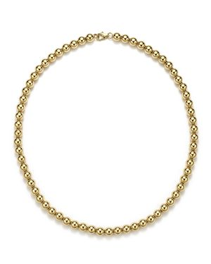14K Yellow Gold Beaded Necklace, 18 - 100% Exclusive