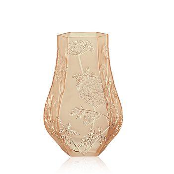 Lalique - Ombelles Gold Luster Vase
