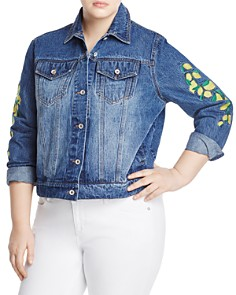 Bagatelle Plus - Lemon Denim Jacket