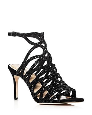 Imagine Vince Camuto Plash Embellished High Heel Sandals