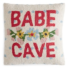 "Peking Handicraft Babe Cave Decorative Pillow, 16"" x 16"" - Bloomingdale's_0"