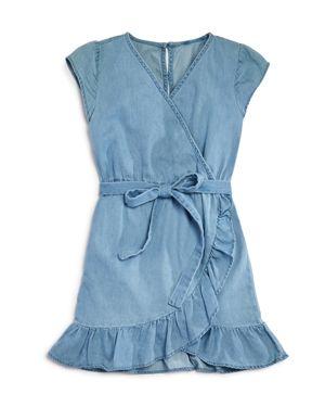 Bardot Junior Girls' Chambray Wrap Dress - Little Kid