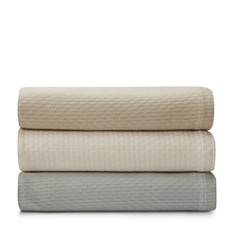 Hudson Park Geo Diamond Blankets - 100% Exclusive - Bloomingdale's_0