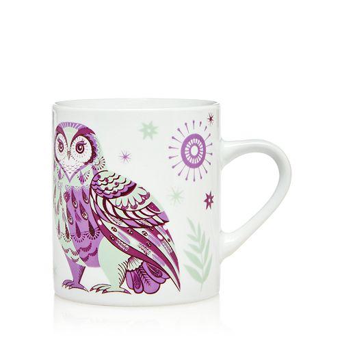 Magpie & Jay - Wildwood Owl Petite Mug