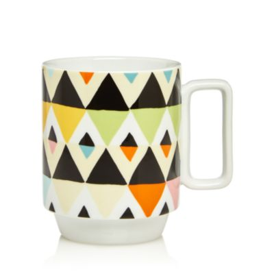 $Magpie & Jay Viva Diamond Stripes Mug - Bloomingdale's
