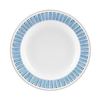 Monique Lhuillier Waterford - Malibu Azure Rim Soup Bowl