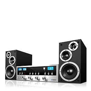 Innovative Technology Classic Cd Stereo System with Bluetooth