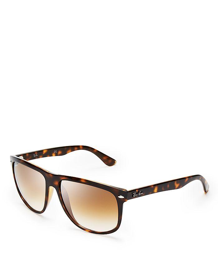 f22c8a4ea9 Ray-Ban - Unisex Flat-Top Boyfriend Sunglasses