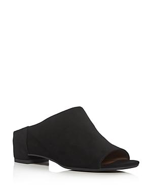 Aquatalia Adriana Weatherproof Low Heel Slide Sandals
