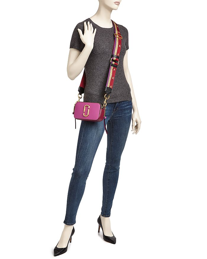 cf6c04e80 MARC JACOBS Snapshot Leather Camera Bag | Bloomingdale's