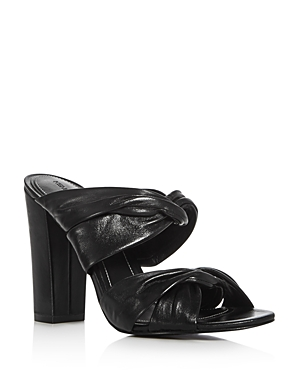 Kendall and Kylie Demy Strappy High Heel Slide Sandals