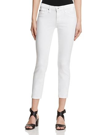 AG - Stilt Crop Jeans in White