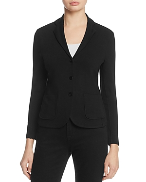 Majestic Filatures Three-Button French Terry Blazer
