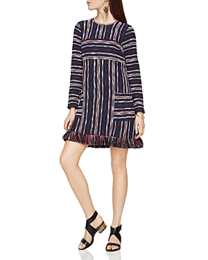 Bcbgmaxazria Jacquard Stripe Dress