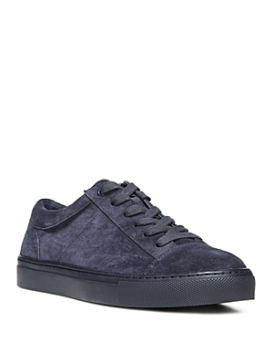 Vince Women's Afton Platform Leather Lace Up Sneakers