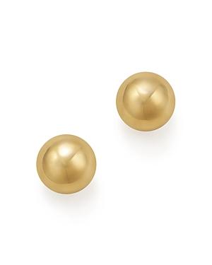 14K Yellow Gold Ball Stud Earrings - 100% Exclusive