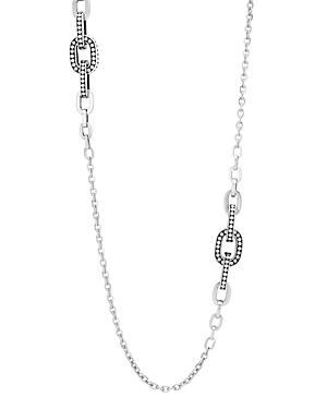 John Hardy Sterling Silver Dot Sautoir Necklace, 36