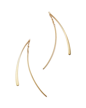 14K Yellow Gold Small Double Wire Dangle Earrings - 100% Exclusive
