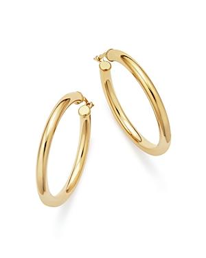 Bloomingdale's 14K Yellow Gold Tube Hoop Earrings - 100% Exclusive