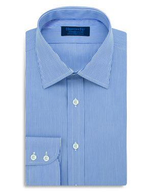 Hilditch & Key Fine Stripe Regular Fit Dress Shirt