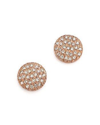 Dana Rebecca Designs - 14K Rose Gold Lauren Joy Diamond Earrings