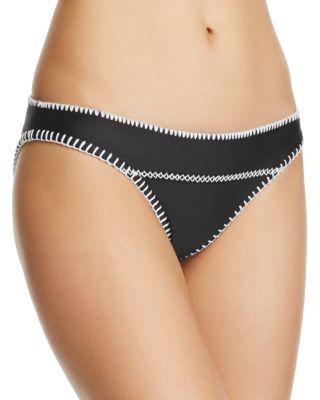 ELLEJAY Diane Bikini Bottom in Black