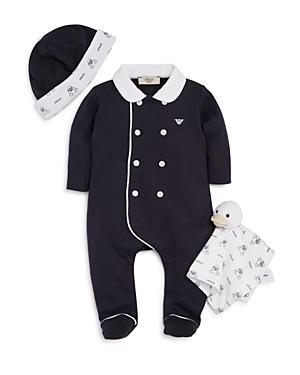 Armani Junior Infant Boys' Footie Set - Sizes 3-9 Months