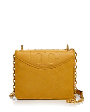 Tory Burch Alexa Convertible Leather Shoulder Bag
