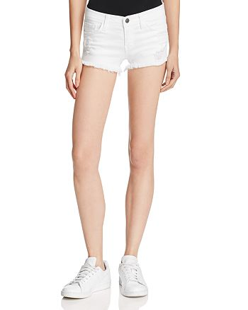 Flying Monkey - White Distressed Cutoff Shorts - 100% Exclusive
