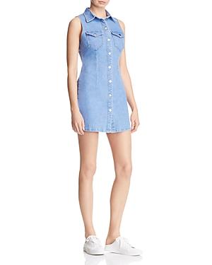 Bardot Erin Denim Shirt Dress