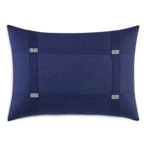 Vera Wang Chevron Sheer Indigo Decorative Pillow, 12 x 16