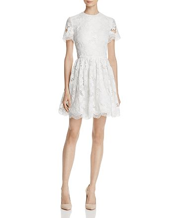 Alice and Olivia - Karen Lace Party Dress