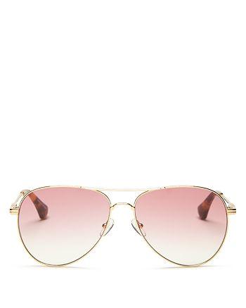 Sonix - Women's Lodi Aviator Sunglasses, 62mm