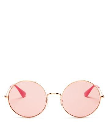$Ray-Ban Unisex Jo-Ja Round Sunglasses, 55mm - Bloomingdale's