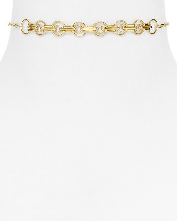 Jennifer Zeuner - Bryce Chain Choker Necklace, 11.5""