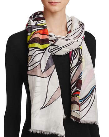 Fraas - Coloring Book Floral Scarf