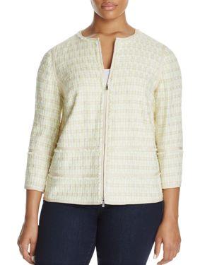 Lafayette 148 New York Plus Aisha Jacket