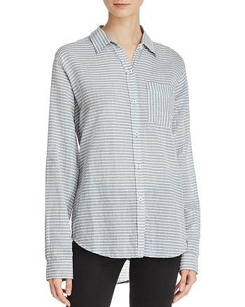 Current/Elliott - The Boyfriend Striped Shirt