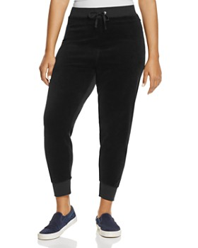 Juicy Couture Black Label Plus - Plus Zuma Velour Jogger Pants - 100% Exclusive