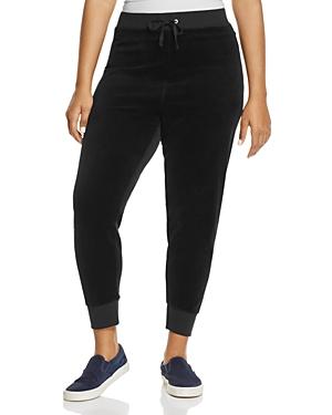 New Juicy Couture Black Label Zuma Velour Jogger Pants - 100% Exclusive, Pitch Black