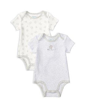 Ralph Lauren - Unisex Bear Bodysuit, Set of 2 - Baby