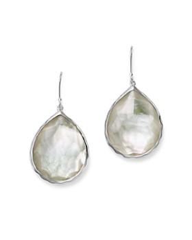 IPPOLITA - Sterling Silver Wonderland Teardrop in Mother of Pearl Earrings