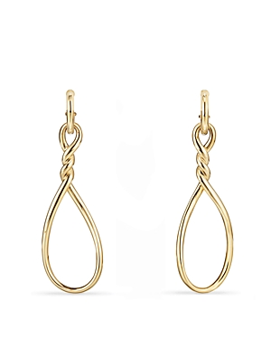 David Yurman Continuance Large Drop Earrings in 18K Gold